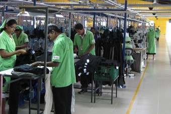 Sri Lankan garment makers import around half of their fabric requirements