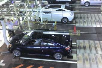Export Toyota production at the Tsutsumi plant in central Japan in mid-2009