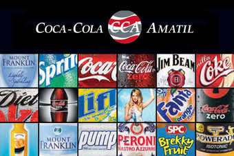 Coca-Cola Amatil will take sole sales and distribution control of Beam Globals brands in Australia