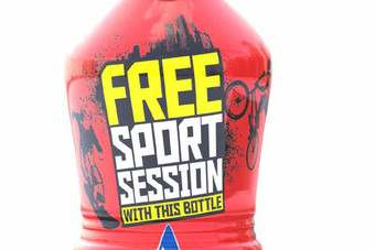 The Lucozade Sport Free60 promotion offers free sports sessions from football to wakeboarding