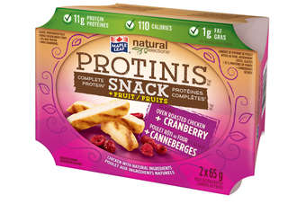 "Maple Leaf has introduced Protinis ""complete protein"" snack"