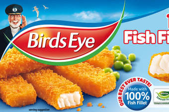 Birds Eye cod and haddock fish fingers will carry the MSC ecolabel from September