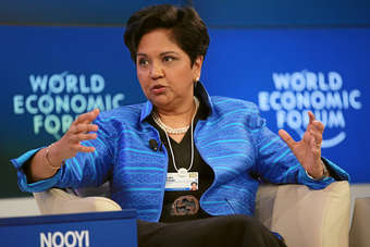 Nooyi took combative position on behalf of the corporate sector