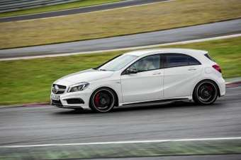 The A 45 AMG is due to be in German showrooms from June (July for the UK)