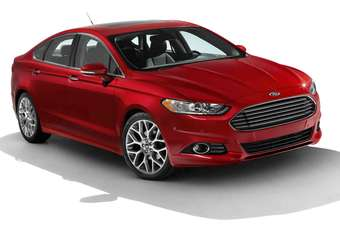 The Fusion sedan: all-new for the Americas 2013 model year