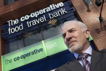 Marks oversaw Co-ops expansion in food, banking and travel