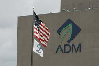 ADM saw its net profits drop by US$537m to $540m in the six-month period