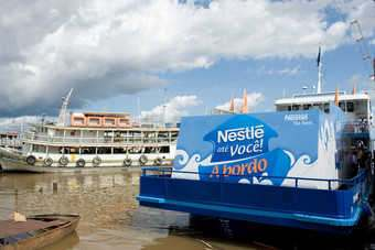 BRAZIL: Nestlé launches floating store on the Amazon