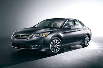 Hondas Accord tipped Toyotas Camry off its top car nameplate perch in April