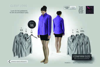 The new edition of the virtual fitting room is being rolled out to new clients