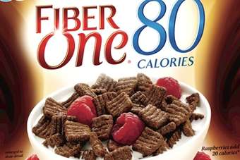 Fiber One 80 Calories chocolate squares target dieters