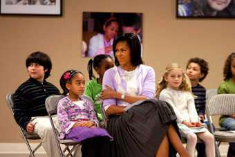 US: Michelle Obama launches anti-obesity drive