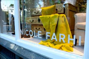 Nicole Farhi is working on a new design for its six stores