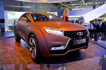 Lada also showed the XRAY concept in Moscow. The Lada designers are based in Milan and led by Steve Mattin (ex Mercedes and Volvo). Its a long way from the Fiat 124-derived Rivas of old.