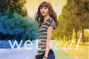 Wet Seal said it experienced a difficult fourth-quarter