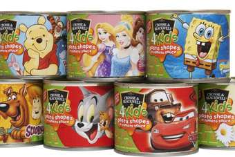 UK: Princes adds to Crosse & Blackwell 4Kids pasta range