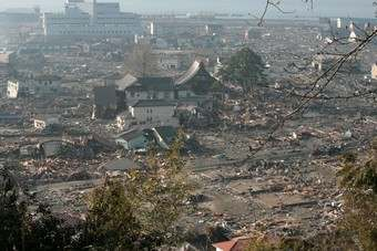 Japans economy hit hard by earthquake. Photo: Toshiharu Kato/Japanese Red Cross Society