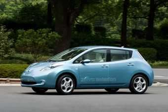 Leaf will be first volume carmakers EV out of the traps here in the UK