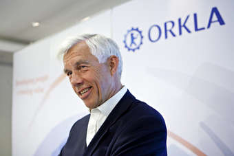 This week Orkla CEO Åge Korsvold talked about how Orkla could improve Rieber & Søns performance