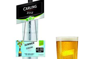 Carling Zest is marketed as an alternative to cider or light wine