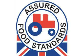 The Red Tractor logo sets criteria for producers and retailers to meet on food safety, environmental protection, animal welfare and British origin