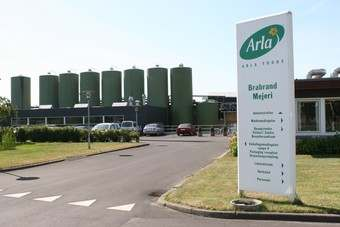 Arla's standard litre price of milk rises to 24.5 pence