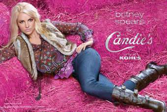 US: Britney Spears re-signed to promote Candies at Kohl's