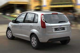 Figo is lightly restyled old model Fiesta