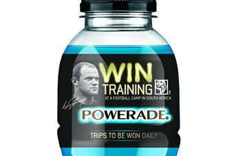 Coca-Cola GB signed Rooney in February for a push on its Powerade sports drink