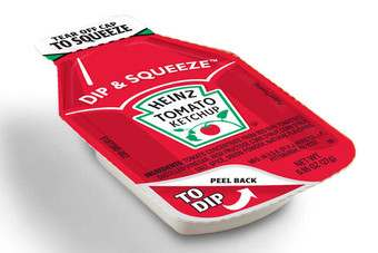 Heinz launched Dip & Squeeze in February 2010