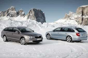 Skoda has added estate/wagon and 4WD variants to the Superb range since the original hatchback model was launched