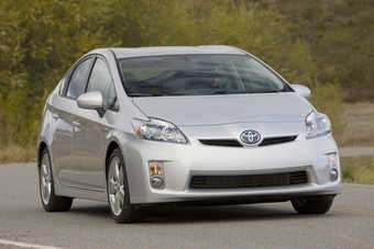 Toyota still leads in full hybrids with the Prius leading the way