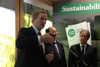 Enda Kenny emphasised the industrys role in boosting the countrys economy