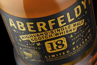 Click through to view Bacardis Aberfeldy 18 Year Old