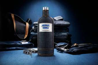 Click through to view Pernod Ricards Absolut Denim