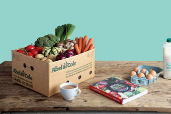 Abel & Cole delivers groceries to around 50,000 homes in England and Wales on a weekly basis
