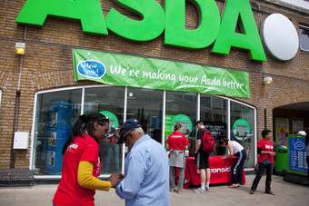 Asda faces website glitch