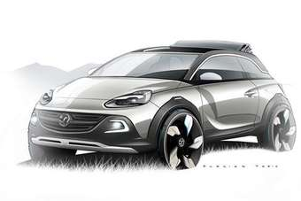 "Tough and compact - an ""urban mini-crossover"" concept from Opel/Vauxhall"