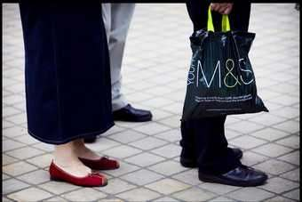 M&S saw food like-for-likes rise over the year for first time since summer 2007