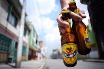 SABMiller sells Aguila beer in Colombia