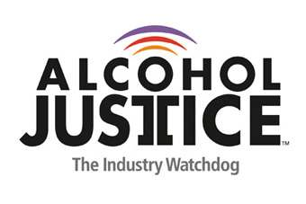 "Alcohol Justice highlighted ""foreign-owned"" Anheuser-Busch InBev, SABMiller, and Diageo as wielding tremendous political power in the US"