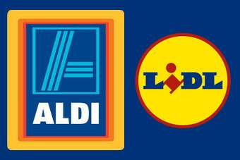 Aldi and Lidl have gained market share in Ireland as cash-strapped shoppers seek bargains