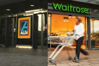 UK: Waitrose and Aldi gain share as market diverges