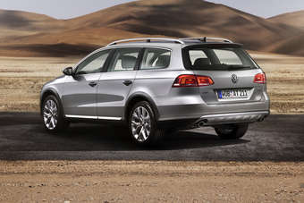 The Passat for people who need 165mm of ground clearance