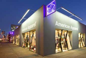 American Apparel faced challenges with its new distribution centre