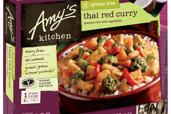 The launch follows increased distribution in Tesco's of the Amy's Kitchen range