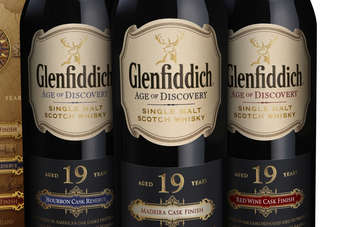 Click through to view the Glenfiddich gift pack