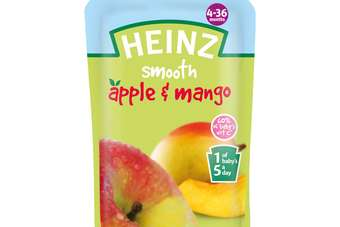 All pouches contain no added sugar, artificial flavours, colours or preservatives