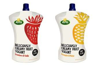 Arla Foods has launched Arla Squeeze - a new yoghurt range