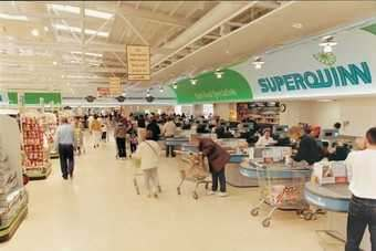 IRELAND: Superquinn gains share at expense of Tesco, Dunnes